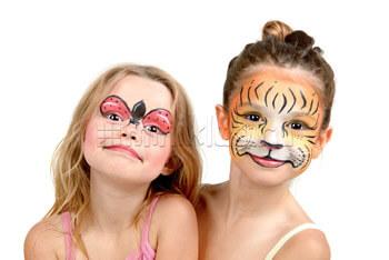 Детский макияж для девочек