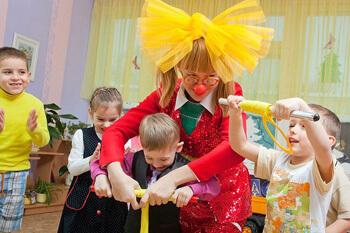 Заказать клоуна на детский праздник