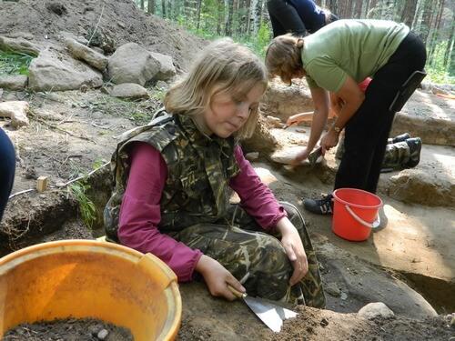 Юный археолог сценарий