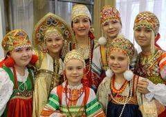 Мастер-класс «Русский фольклор»