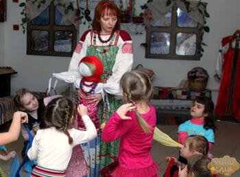 Мастер класс по фольклору в детском саду